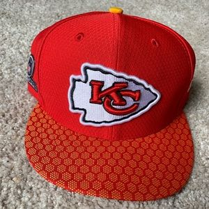 Kansas City Chiefs New Era Playoff 7.5 hat